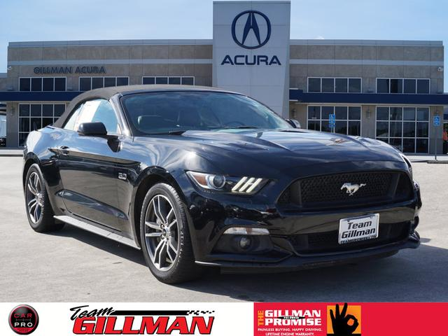 Pre Owned 2015 Ford Mustang Gt Premium Convertible In North Houston