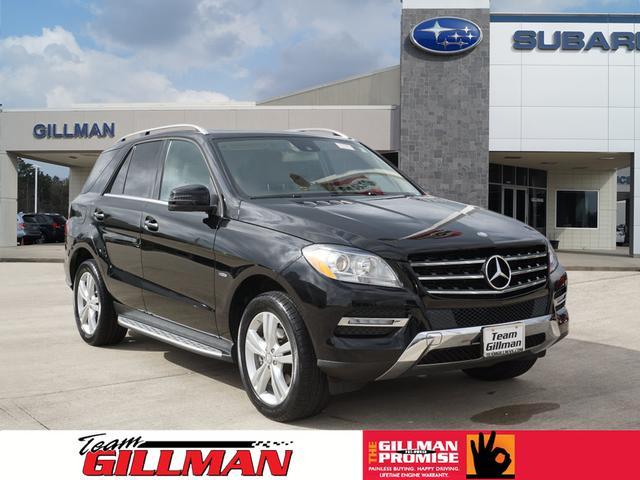 Pre Owned 2012 Mercedes Benz M Class ML 350